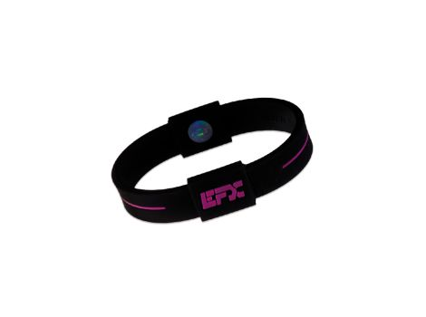 Performance wristbands EFX Silikon Wristbands Black/Pink M